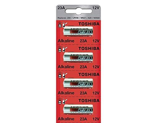 Toshiba Akku, 12 V, 23 A - A23S A23 GP23AE 23GA MN21 (4 Batterien)
