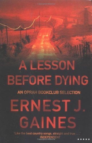 A Lesson Before Dying (Five Star) by Gaines, Ernest J. (2001) Paperback