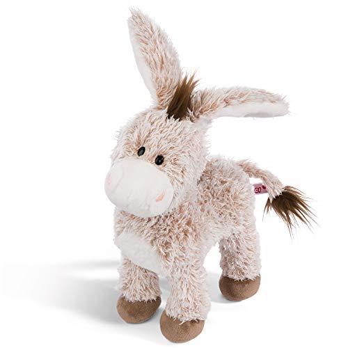 NICI Kuscheltier Esel stehend 30 cm – Esel Plüschtier für Mädchen, Jungen & Babys – Flauschiger Stofftier Esel zum Kuscheln, Spielen und Schlafen – Gemütliches Schmusetier – ab 12 Monaten – 44937