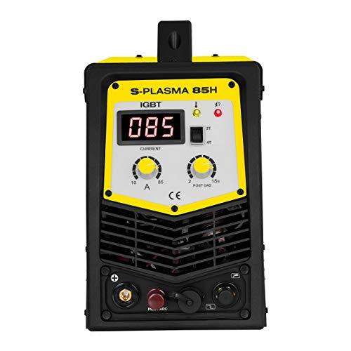 Stamos Welding Group S-PLASMA 85H Plasmaschneider Pilotzündung Plasmaschneidgerät Plasmacutter Plasmaschweissgerät Schweißgerät (400 V, Schneidstrom 20-85 A, Schneidtiefe bis 27 mm, 2T/4T) - 6