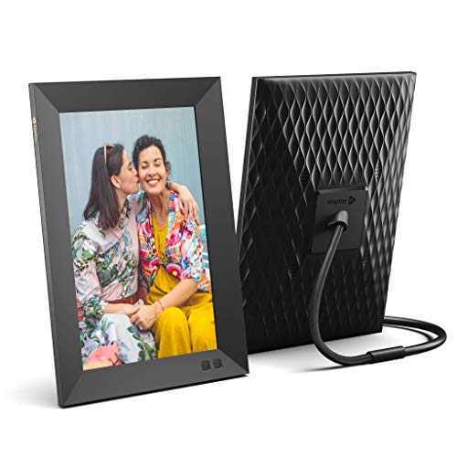 Nixplay Smart Digital Picture Frame 10.1 Inch - Share Moments Instantly via E-Mail or App