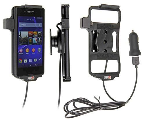 Brodit Actif Support Voiture avec Adaptateur USB pour Sony Xperia E3 Noir