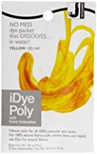 Jacquard iDye Poly Synthetic Fiber Fabric Dye Yellow