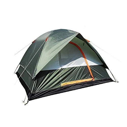 RYP Guo Outdoor Products Camping Vert extérieur, Tentes d'alpinisme, Polyvalent, Tentes pour 3 à 4 Personnes, Solide et Durable, Coupe-Vent, Imperméable, Anti-Moustique, Tentes de Haute qualité,3-4 p