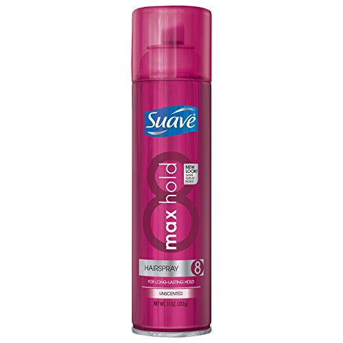 Suave Max Hold Unscented Hairspray, 11 oz
