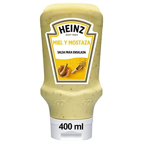 Heinz, Condimento per Insalata, con Senape e Miele, 405 gr