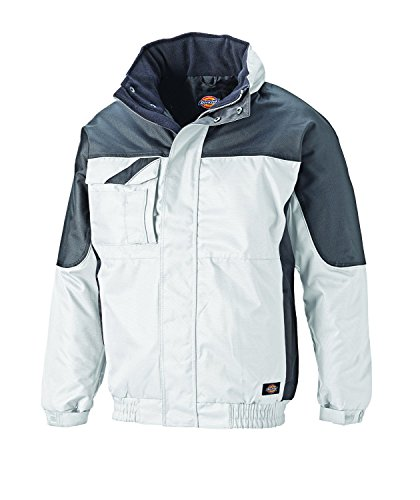 Dickies Industry 30060 Winterjacke, IN30060 ,weiß(weiß/grau),M