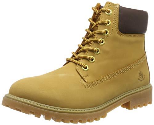 lumberjack Herren River Klassische Stiefel, Gelb (Yellow/Dk Brown M0001), 42 EU