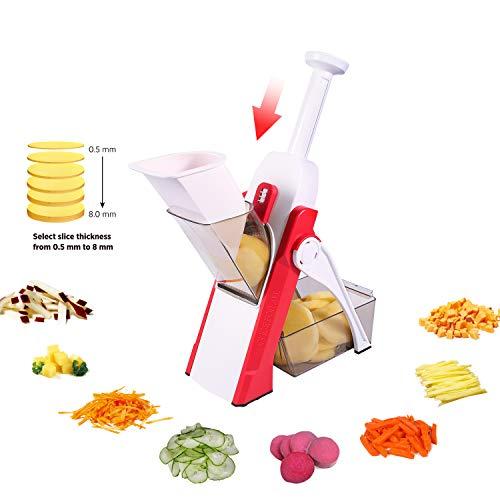 Gemüseschneider, Zwiebelschneider ONCE FOR ALL Multifunktionaler Allesschneider für die Küche