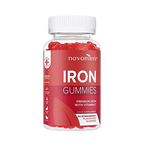 Vitamina C y Hierro en Gominolas – Vitamina C Masticable – Suplementos...