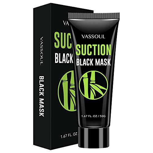 Vassoul Blackhead Remover Mask, Peel Off Blackhead Mask, Black Mask - Deep Cleansing Facial Mask for Face & Nose