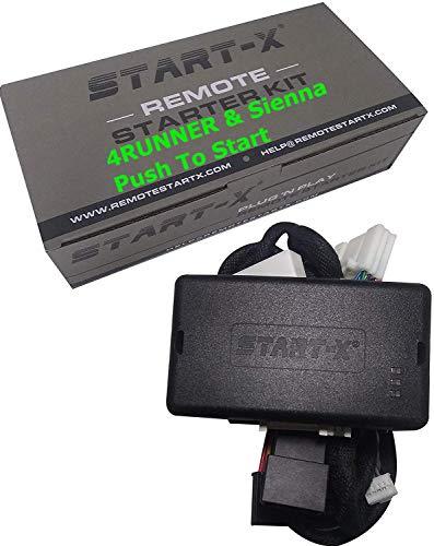 Start-X Plug N Play Remote Starter for 4Runner 2010-19, Sienna 2011-2020 || Push to Start Only || Lock 3X to Remote Start