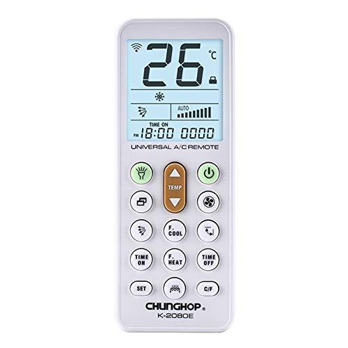la 2/appareils a//c CHUNGHOP T/él/écommande Universelle de Climatiseur avec Lanterne