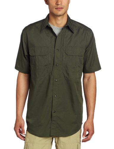 5.11 Tactical Series Taclite Pro Shirt Short Sleeve Homme, TDU Green, FR (Taille Fabricant : XL)