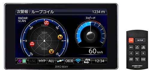 コムテック GPS液晶レーダー探知機 ZERO 806V 無料データ更新 移動式オービス/ゾーン30対応 OBD2接続 ライ...