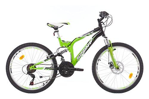 "SPRINT Parallax 24"" vélo Enfant, Shimano 18 VIT."