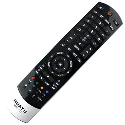 Ersatz Fernbedienung passend für Toshiba CT-90382, CT-90394, CT-90427 Remote Control - afstandsbediening, télécommande, Kumanda, Plug und Play