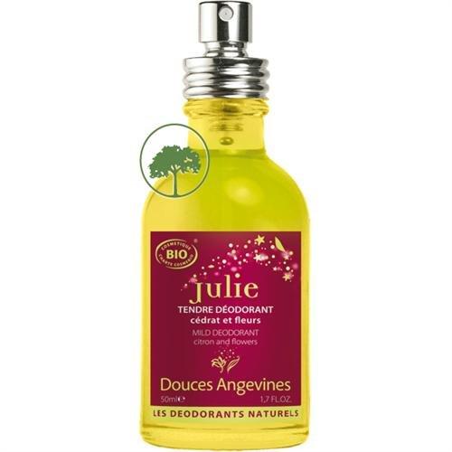 Les Douces Angevines Julie Déodorant naturel aux notes fleuries et douces 50ml