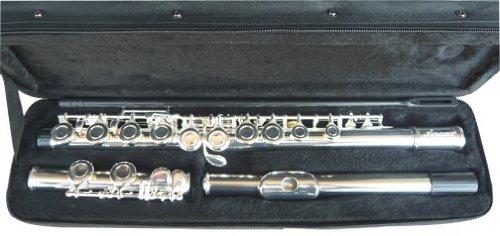 Anaxa Silver Concert Band C flute...
