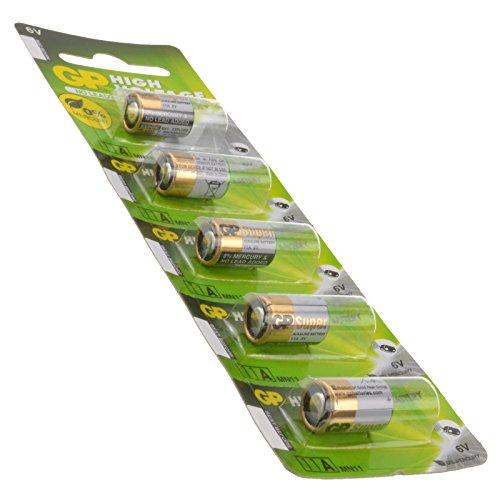 GP Hoch Voltzahl Batterie 11a MN11 5 Stück 6V [5 Stück]