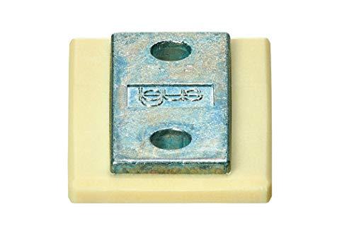 drylin® N Führungsschlitten iglidur® J NW-11-27-LLYZ/H=9,5mm/ H2=1,2mm/ A=14