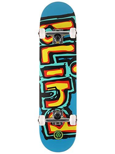 Blind Skateboards (leuchtendes Rot/Blaugrün, 19,7 cm)