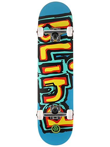 Blind OG Water Color Youth Soft Top Skateboard Complete - Yellow/Pink - 6.75'