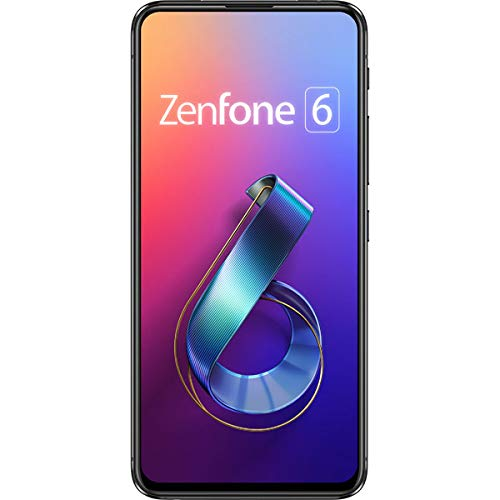 ASUS(エイスース) ZenFone 6 (ZS630KL) ミッドナイトブラック[メモリ 6GB / ストレージ 128GB]SIMフリースマートフォン ZS630KL-BK128S6