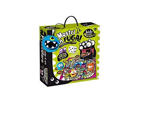 Lisciani Giochi- Kids Love Monsters Mostri in Fuga Gioco, Multicolore, 82728