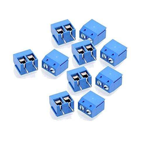 Verwisselbare Accessoires LDTR-YJ021 2 Pin 5.0mm Laatste Blocks Connectors - Blauw (10-delig)