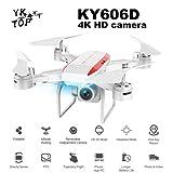 Heaviesk Telecamera Professionale KY606D Pieghevole Drone RC Lungo Tempo di Volo...