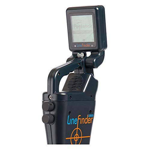 Prototek | LineFinder 2200 | Multi Frequency Underground Pipe and Cable Locator Tool