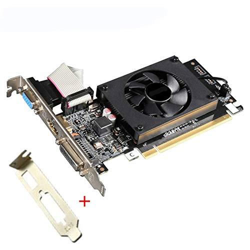 RTYU Tarjeta De Video Ajuste Fit For Gigabyte GT 710 1GB Tarjetas De Gráficos GPU para NVIDIA GeForce GT710 1GB Tarjetas De...