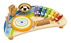 Drum musical instrument for infants, toddlers and preschoolers
