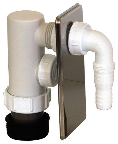 Geräte-Unterputz-Geruchsverschluss | Zum Anschluss des Ablaufschlauches einer Waschmaschine oder Spülmaschine