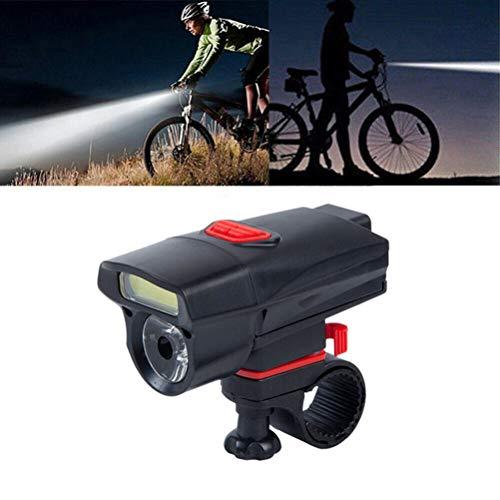 Juego de luces LED para bicicleta, recargables por USB, accesorios de alta intensidad, 15 modos de luz para bicicleta de montaña
