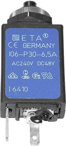 ETA CE106P30-40-6,5 Schutzschalter Thermisch 240 V/AC 6.5 A 1 St.