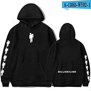 36 style Billie Eilish hoodie men/women teenager youth unisex girl colorful hoodies Bellyache sweater hoody Pullover tops coat jacket Hiphop Street Fashion Oversized Sweatshirt
