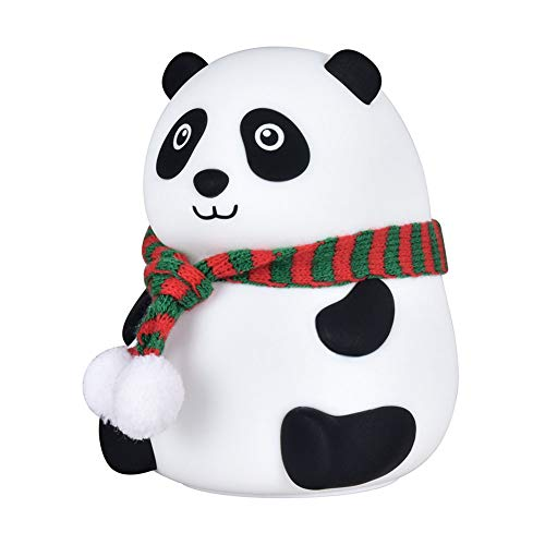 Szl Panda Pequeña Mesa Lámpara de Carga Lámpara de Mesa Niños Lámpara de Mesa