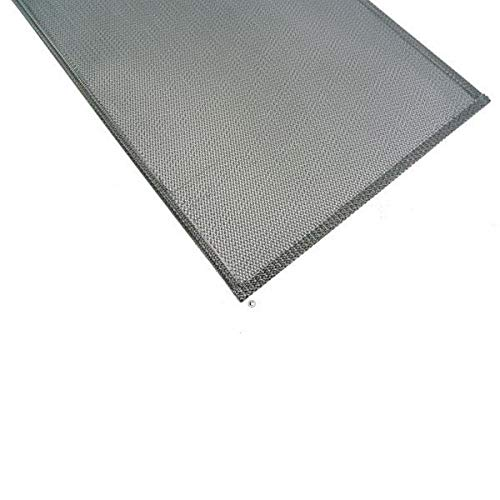 Filtre metal anti graisse (a l'unite) 530x269mm pour Hotte SAUTER, THE