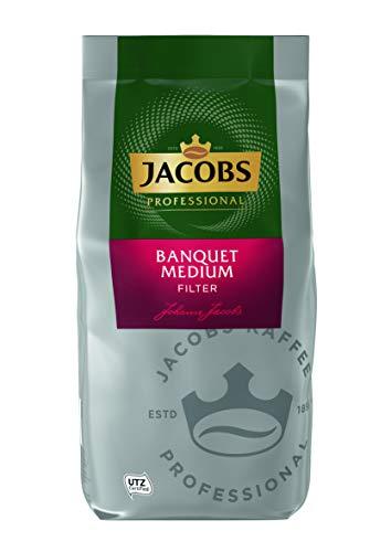 Jacobs Professional Filterkaffee Banquet Medium, gemahlener Kaffee, 1 kg