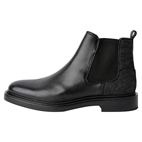 G-STAR RAW Mens Vacum Chelsea Boot, Black 9239-990, 45 EU