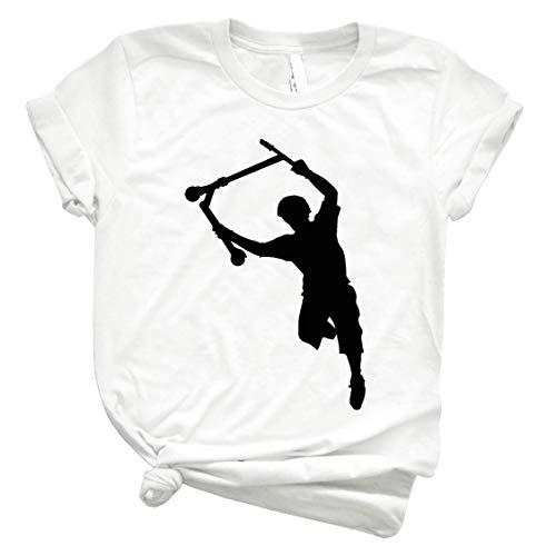 Deck Grab Çhαmƥîση Stunt Scooter Art 93 - Unisex Shirt Men's Shirt Best Vintage Tee for Women Kids Youth