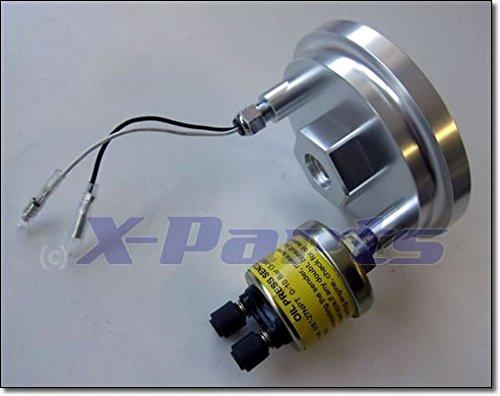 Alu Ölfilter Adapter für Öltemperatur Geber 4-Zylinder 1031014x