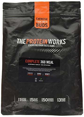 The Protein Works Complete 360 Meal Nutritionally Balanced Quick & Affordable Vanilla Crème, 2 kg