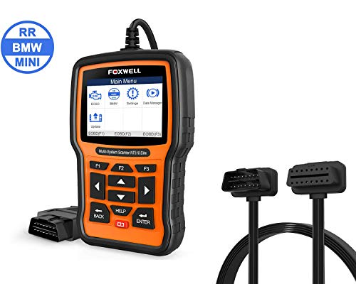 Buy FOXWELL NT510 Elite with BMW Software and FOXWELL 1-1 OBD2 Extension Cable