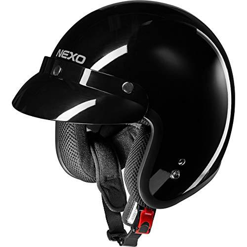 Nexo Casco de jet Casco de motocicleta Jethelmet Basic II, Unisex, Chopper/Cruiser, verano, Termoplástico