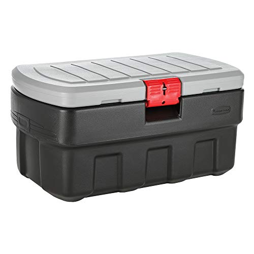 Rubbermaid ActionPacker️ 35 Gal Lockable Storage Bin, Industrial, Rugged Storage Container with Lid