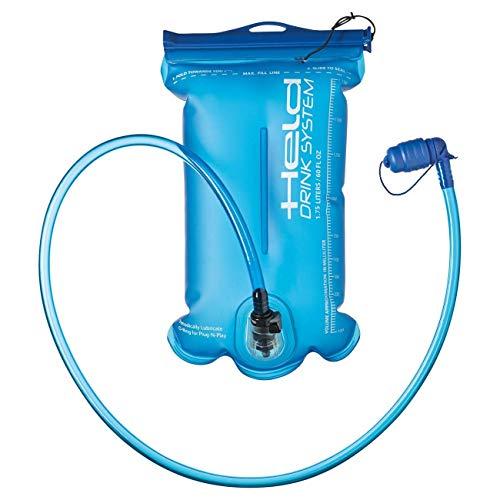 Held Trinkblase 1,75l mit abnehmbarem Schlauch und Mittelwandschweißung für eine schlanke Form des Trinksystems, Drinkbag