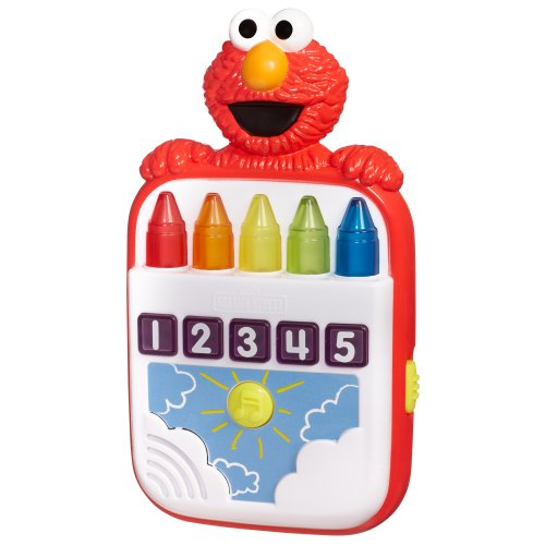 Playskool Sesame Street Steps To School Elmo's Count Along Crayons Toy